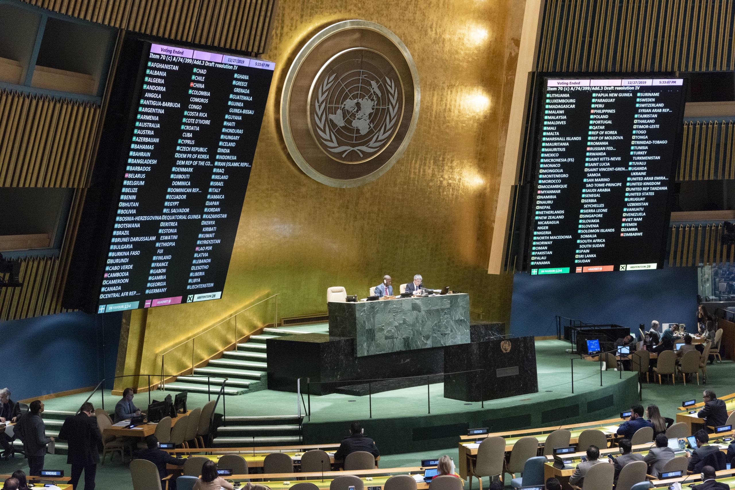 UN-Vollversammlung